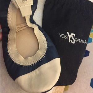 Yosi Samra new ballet flats, Samantha cap toe